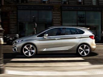 BMW придумала переднеприводный хэтчбек для любителей активного отдыха