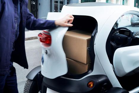 Компактный электромобиль получил 180-литровый багажник. Фото 2