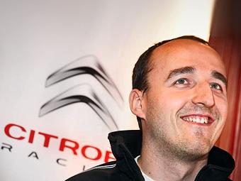Кубица протестирует кольцевую машину Citroen для WTCC