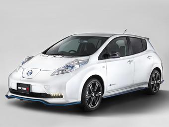 Специалисты Nismo доработали электрокар Nissan Leaf