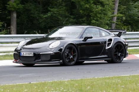 Премьера купе Porsche 911 GT2 состоится на Женевском моторшоу