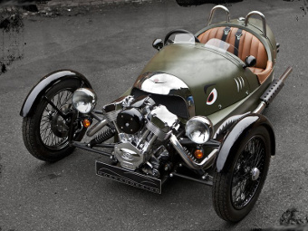 Трициклы Morgan обзаведутся новыми двигателями