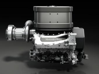 Новые двигатели Формулы-1 станут тяжелее на 50 килограмм