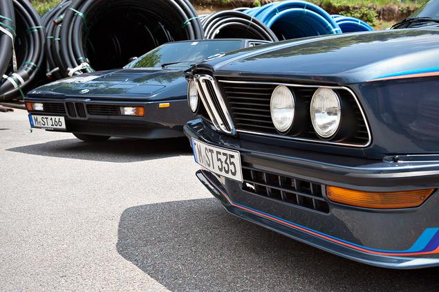 Проникаемся духом «олдскульного» суперкара BMW M1 и спортивного седана M535i