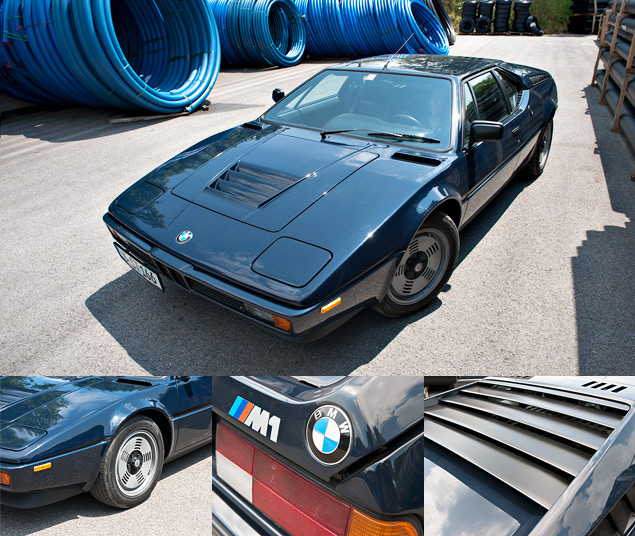 Проникаемся духом «олдскульного» суперкара BMW M1 и спортивного седана M535i. Фото 1