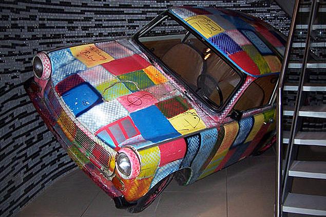 Какую память оставил после себя самый массовый автомобиль ГДР. Фото 1