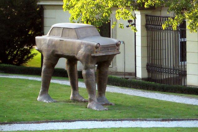 Какую память оставил после себя самый массовый автомобиль ГДР. Фото 5
