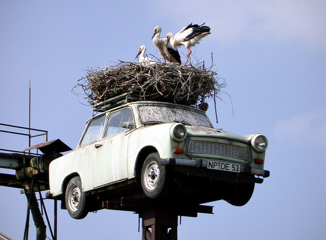 Какую память оставил после себя самый массовый автомобиль ГДР. Фото 8