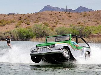 Американцы построили самый быстрый в мире автомобиль-амфибию