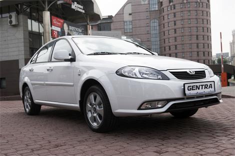 Модель Daewoo Gentra появится в продаже во второй половине июля. Фото 1