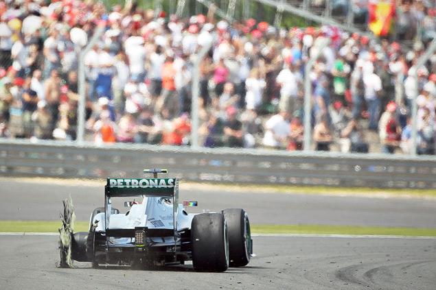 Нико Росберг выиграл непредсказуемый Гран-при Великобритании. Фото 3