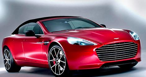 Американские тюнеры превратили Aston Martin Rapide S в кабриолет