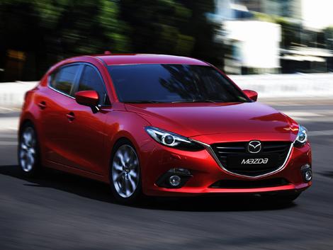 Четырехдверная версия Mazda3 разделит линейку моторов с хэтчбеком