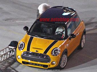 Фотошпионы рассекретили внешность нового MINI Cooper