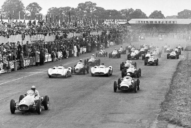 Как менялись покрышки Формулы-1 за 60 лет