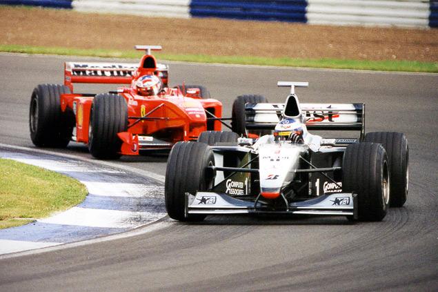 Как менялись покрышки Формулы-1 за 60 лет. Фото 5