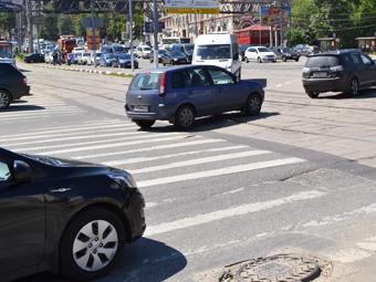 На дорогах Москвы появятся приподнятые пешеходные переходы