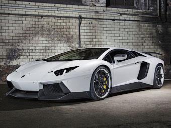 """Lamborghini Aventador сравнялся в мощности с """"Вейроном"""""""