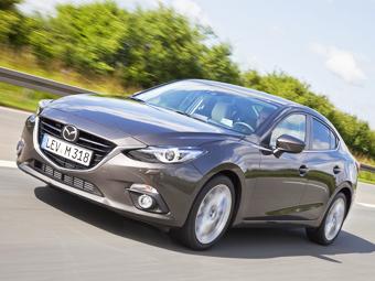 В интернете рассекретили новый седан Mazda3