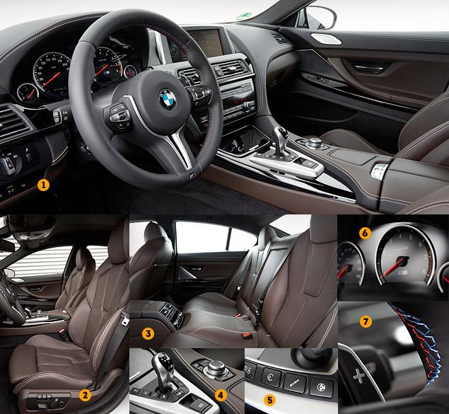 Мини-тест: 560-сильное четырехдверное купе BMW M6 Gran Coupe. Фото 2