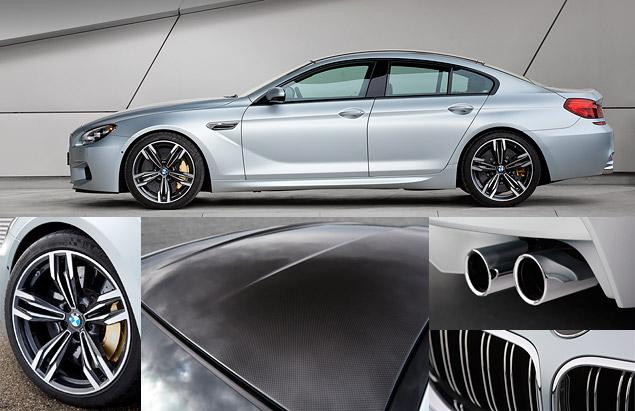 Мини-тест: 560-сильное четырехдверное купе BMW M6 Gran Coupe. Фото 3