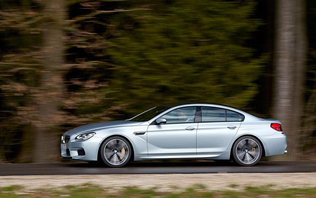 Мини-тест: 560-сильное четырехдверное купе BMW M6 Gran Coupe. Фото 6