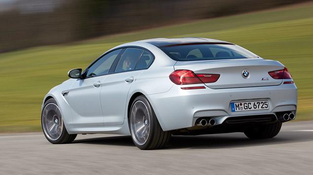 Мини-тест: 560-сильное четырехдверное купе BMW M6 Gran Coupe. Фото 8