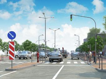 В Москве появится 70 светящихся пешеходных переходов