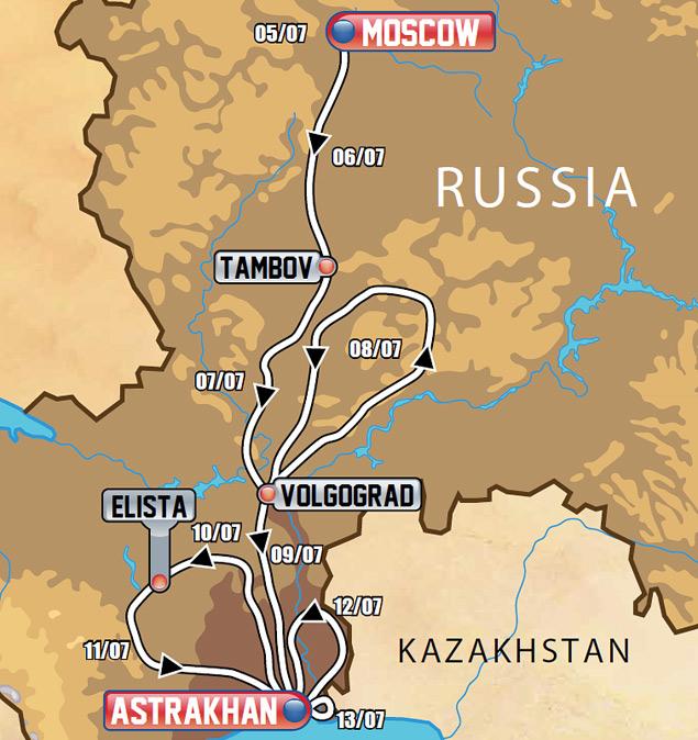 В Москве стартует пятый ралли-рейд «Шелковый путь». Фото 2