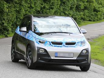 На дорогах Германии заметили серийный BMW i3