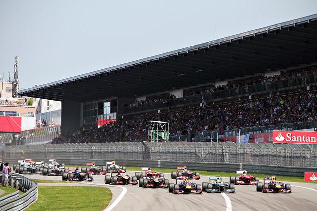 Себастьян Феттель впервые выиграл Гран-при Германии. Фото 1