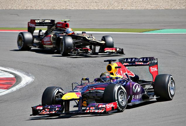 Себастьян Феттель впервые выиграл Гран-при Германии. Фото 2