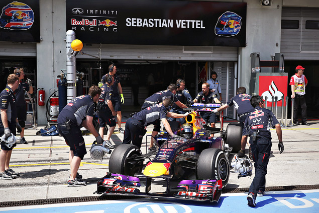 Себастьян Феттель впервые выиграл Гран-при Германии. Фото 5