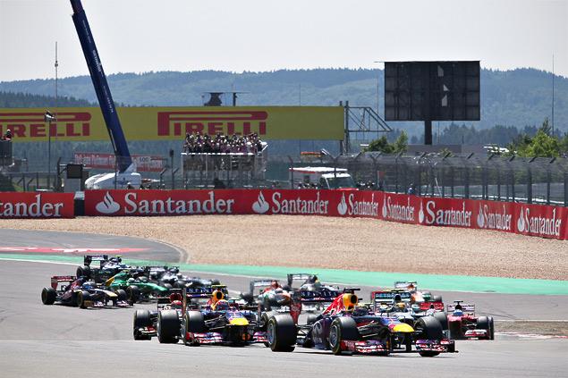 Себастьян Феттель впервые выиграл Гран-при Германии. Фото 6