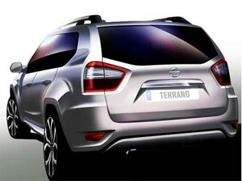 Компания Nissan показала новый тизер внедорожника Terrano