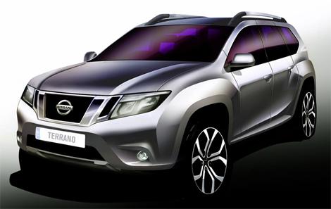 Nissan Terrano нового поколения разделит платформу с Renault Duster