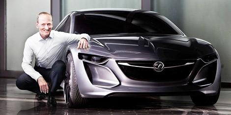 Концептуальная двухдверка Opel Monza дебютирует во Франкфурте