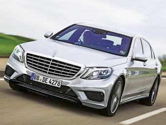 """В Сети появились фотографии """"заряженного"""" Mercedes-Benz S-Class"""