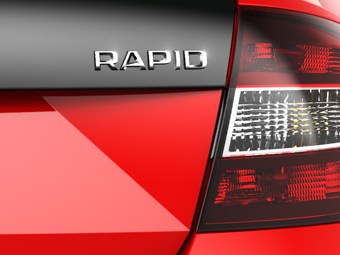 Skoda намекнула на новую версию Rapid