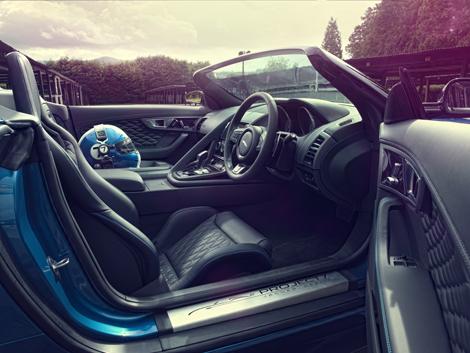 Концептуальный трековый родстер Jaguar Project 7 оснастили 550-сильным мотором