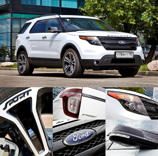 Мини-тест: 360-сильный вседорожник Ford Explorer Sport