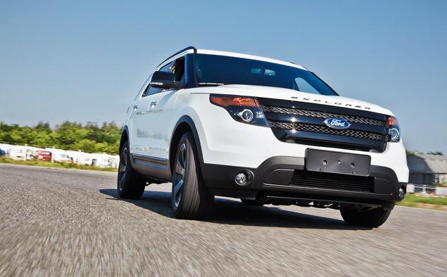 Мини-тест: 360-сильный вседорожник Ford Explorer Sport. Фото 4