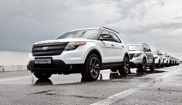 Мини-тест: 360-сильный вседорожник Ford Explorer Sport. Фото 9