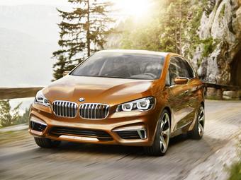 Компания BMW представила хэтчбек для любителей активного отдыха