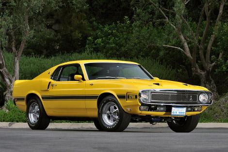 На аукционе продадут Shelby GT500 образца 1969 года