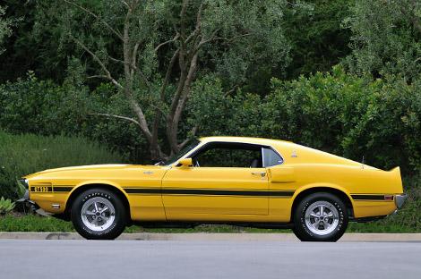 На аукционе продадут Shelby GT500 образца 1969 года. Фото 1
