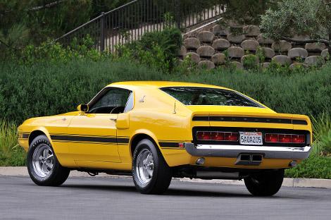 На аукционе продадут Shelby GT500 образца 1969 года. Фото 2