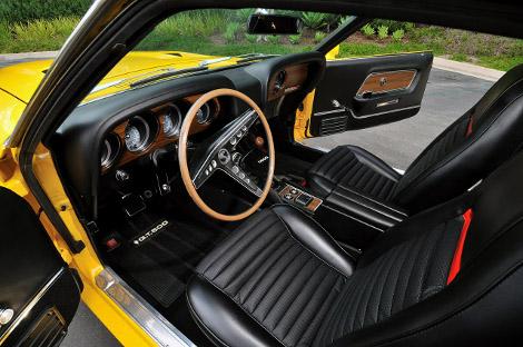 На аукционе продадут Shelby GT500 образца 1969 года. Фото 3