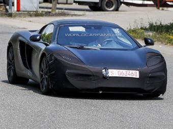 McLaren начал испытания обновленного суперкара MP4-12C