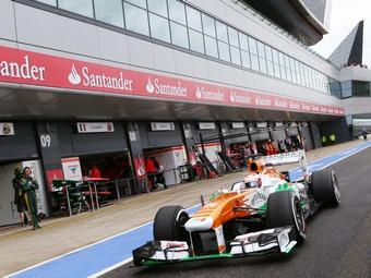 Force India отстранит новичков от молодежных тестов Формулы-1
